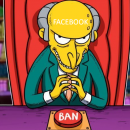 Facebook запретил рекламу криптовалюты