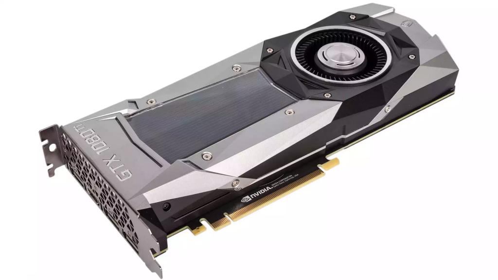 Рис. 4. Лучшая современная видеокарта для поставленных целей– Nvidia GTX 1080.