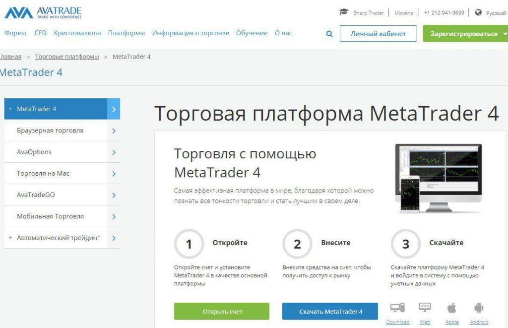 MetaTrader4 – мощный торговый терминал для