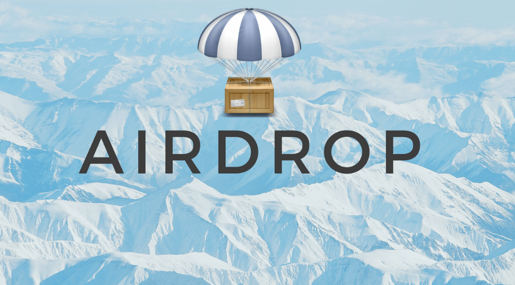 Airdrop криптовалют