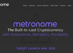 ICO Metronome – один из ТОПа 2018: обзор технологии и перспективы
