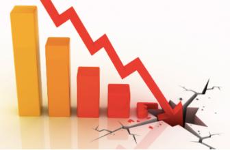 Биткойн и эфириум снова падают под давлением рынка