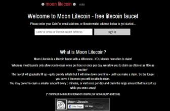 Обзор криптовалютного крана Moon Litecoin: как правильно пользоваться и стоит ли вообще