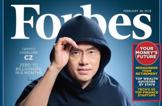 ТОП 10 самых богатых людей благодаря криптоиндустрии могут попасть в Forbes