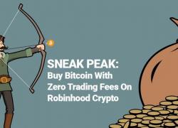 Как купить биткоины с нулевой комиссией с помощью сервиса Robinhood Crypto