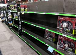 Прямая зависимость: курсы криптовалют падают и снижаются цены на GPU