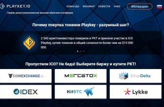 Обзор Playkey: как бесплатно играть в игры – проект после ICO