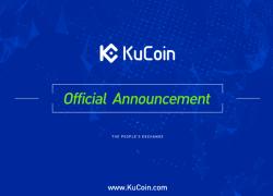 KuCoin объявил о сжигании токенов, бонусах и цели ТОП 30