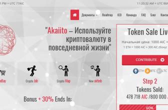 Обзор ICO Akaiito – онлайн-рынок товаров и услуг + геокарта