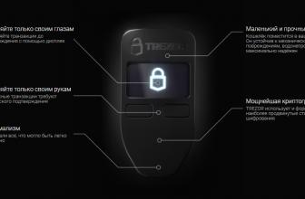 Обзор Трезор кошелька (Trezor): принципы работы, настройка, купить на официальном сайте