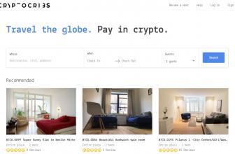 CryptoCribs – криптовалютное агентство для бронирования домов и квартир