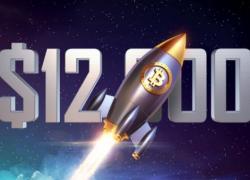 Биткойн вернулся почти на 12К$, шортеры потеряли 44 миллиона $ за одно утро