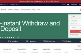 Gate.io: обзор биржи, отзывы, выводы