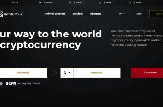 Quantum.uk – безопасный криптокошелёк и обменник